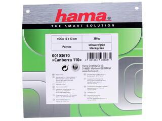 Сумка Hama Canberra 110 черный, зеленый