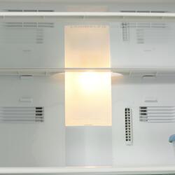 Холодильник с морозильником Panasonic NR-B651BR-N4 серый