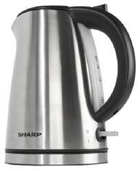 Электрочайник Sharp EK-1701-SL черный, серый