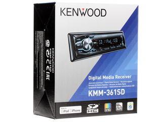 Автопроигрыватель Kenwood KMM-361SD