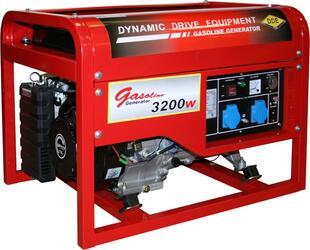 Генератор бензиновый DDE DPG4851 однофазн.ном/макс.  3,2/3,8кВт (UP177, т/бак 25л, ручн/ст, 82кг)
