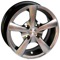 Автомобильный диск Литой Nitro Y210 5,5x13 4/98 ET 35 DIA 58,6 Sil