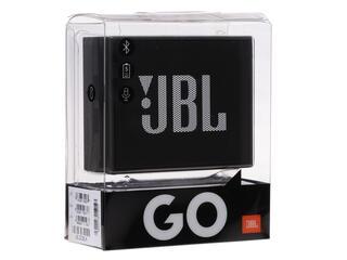 Портативная колонка JBL GO черный