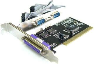 Контроллер ST-Lab I-152/I-420 1хLPT (1x 25pin F) + 2хСOM (2x 9pin M) PCI