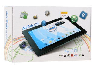 """7"""" Планшет DNS AirTab E73 8 Гб, черный"""