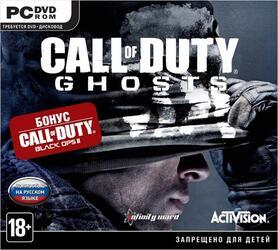 "Игра для PC ""Call of Duty Ghosts + Black Ops II"""