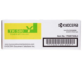 Картридж лазерный Kyocera Mita TK-580Y