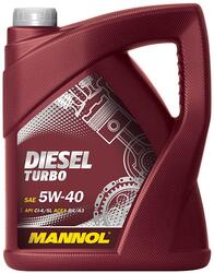 Моторное масло MANNOL Diesel turbo 5W40 DT50510