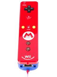 Игровой контроллер Wii U Remote Plus Mario Edition красный