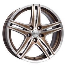Автомобильный диск  K&K Омаха 8x18 5/114,3 ET 45 DIA 67,1 Алмаз брасс