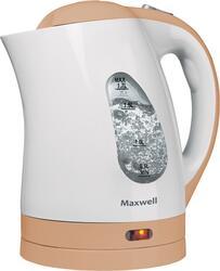 Электрочайник Maxwell MW-1014-01-BN белый, оранжевый
