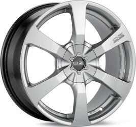 Автомобильный диск Литой OZ Racing Caravaggio 8x17 5/100 ET 35 DIA 68 Crystal Titanium