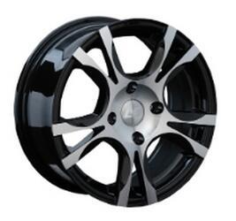 Автомобильный диск Литой LS 130 6,5x15 4/114,3 ET 42 DIA 73,1 BKF