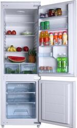 Холодильник с морозильником Hansa FK207.4 S серебристый