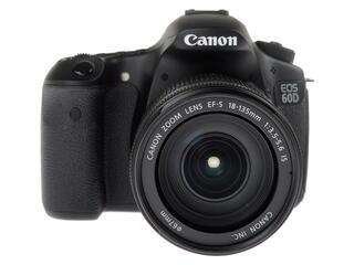 Зеркальная камера Canon EOS 60D Kit 18-135mm черный