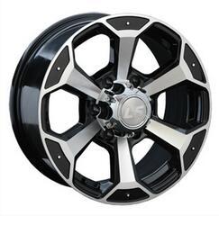 Автомобильный диск Литой LS 187 8x16 6/139,7 ET 30 DIA 67,1 BKF