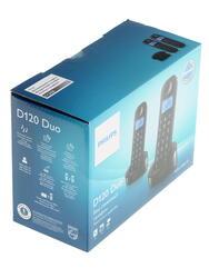 Телефон беспроводной (DECT) Philips D1202B/51