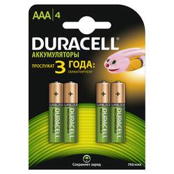 Аккумулятор Duracell HR03-4BL 750 мАч