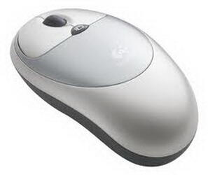 Мышь беспроводная Logitech Cordless Click Optical Mouse