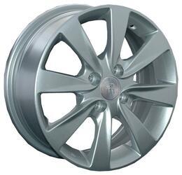 Автомобильный диск литой Replay GN42 6x15 4/100 ET 45 DIA 56,6 Sil