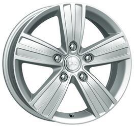 Автомобильный диск  K&K да Винчи 7x16 5/130 ET 43 DIA 84,1 Алмаз аргентум
