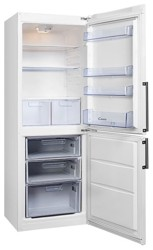 Холодильник с морозильником Candy CBSA 6170W белый