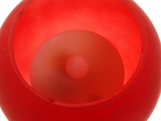 Светильник декоративный ЭРА C15 красный