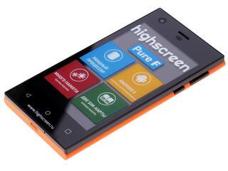 """4"""" Смартфон Highscreen Pure F 8 Гб оранжевый"""