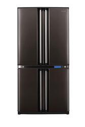 Холодильник с морозильником Sharp SJF91SPBK черный
