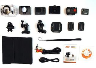 Экшн видеокамера AEE Blackeye XTR черный