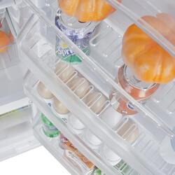 Холодильник с морозильником BEKO CS325000S серебристый