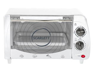 Электропечь Scarlett SC-093 белый