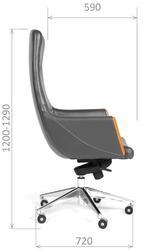 Кресло руководителя CHAIRMAN EGO серый