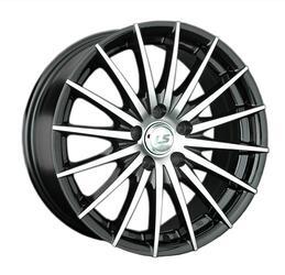 Автомобильный диск литой LS 367 7x16 4/98 ET 28 DIA 58,6 BKF