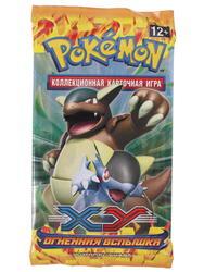 """Дополнение для игры Pokemon XY2: Бустер """"Огненная вспышка"""""""