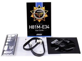 Материнская плата MSI H81M-E34