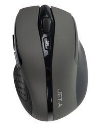 Мышь беспроводная Jet.A Black Style OM-U25G серый