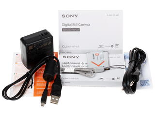 Компактная камера Sony Cyber-shot W810S серый