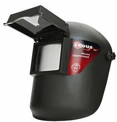 Маска сварочная ERGUS  FG-II (затемнение DIN 11, откидывающийся светофильтр), цветная коробка