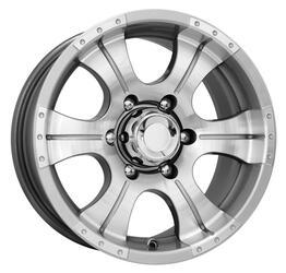 Автомобильный диск литой K&K Байконур 8x16 6/139,7 ET 0 DIA 110,1 Алмаз сильвер