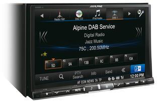 Автопроигрыватель Alpine X800D-U