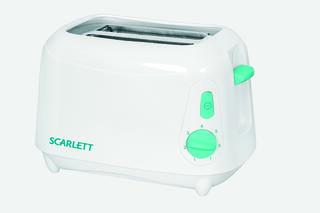 Тостер Scarlett SC-110 Белый с зеленым