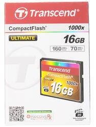 Карта памяти Transcend Ultra Speed (CF) Compact Flash 16 Гб