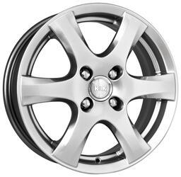 Автомобильный диск  K&K Магма-6 6x16 5/114,3 ET 52,5 DIA 67,1 Блэк платинум