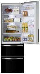 Холодильник с морозильником HISENSE RT-41WC4SAB черный