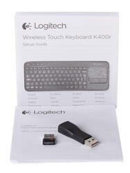 Клавиатура для ТВ Logitech Wireless Touch Keyboard K400