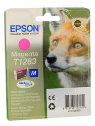 Картридж струйный Epson T1283 (M)