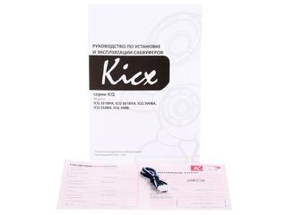 Автосабвуфер активный Kicx ICQ 301BPA