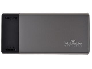 Портативный аккумулятор Kingston MLW221 серый, черный