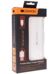 Портативный аккумулятор CANYON CNE-CPB100 белый